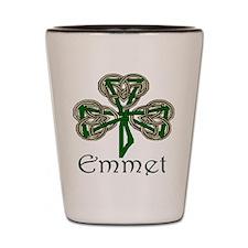 Emmet Shamrock Shot Glass