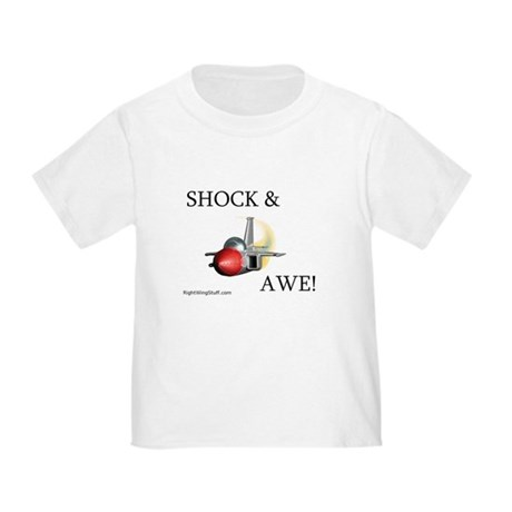&quot;Shock & Awe!&quot; Toddler T-Shirt