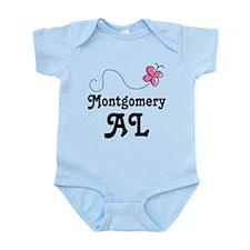 Pretty Montgomery Alabama Gift Onesie