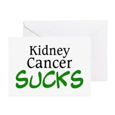 Kidney Cancer Sucks Greeting Cards (Pk of 10)
