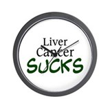 Liver Cancer Sucks Wall Clock