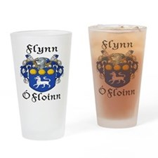 Flynn In Irish & English Pint Glass