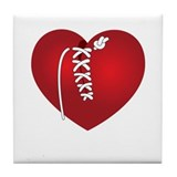 Mended Heart Tile Coaster