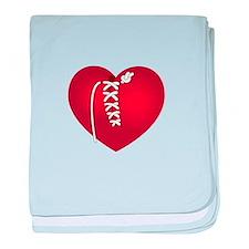 Mended Heart baby blanket