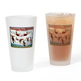 Hanlon Troupe Pint Glass