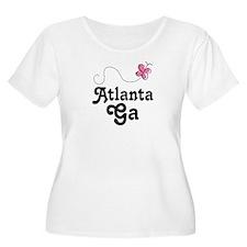 Pretty Atlanta Georgia T-Shirt