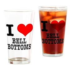 I Heart (Love) Bell Bottoms Pint Glass