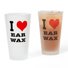 I Heart (Love) Ear Wax Pint Glass