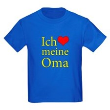 I Love Grandma (German) T