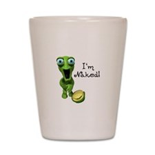 Funny Naked Turtle Shot Glass
