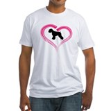 Heart My Schnauzer Natural Ea Shirt