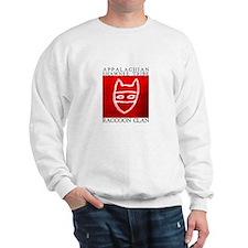 Raccoon Clan Red Sweatshirt