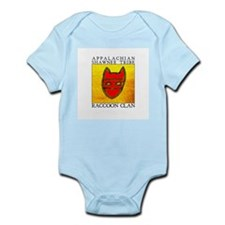 Raccoon Clan Yellow Infant Bodysuit