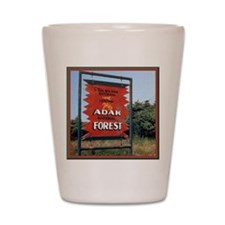 Adak Sign Shot Glass