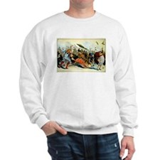 Retro City Boardwalk Parade Sweatshirt