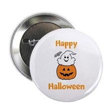 """[Your text] Cute Halloween 2.25"""" Button"""