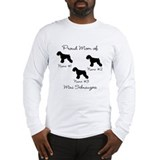 3 Schnauzers Long Sleeve T-Shirt