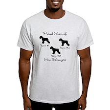 3 Schnauzers T-Shirt