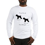 2 Schnauzers Long Sleeve T-Shirt