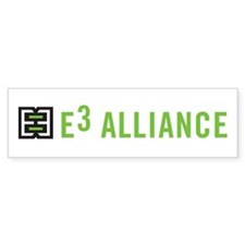 E3 Alliance Bumper Sticker