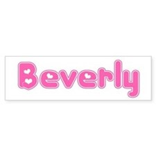 """Beverly"" Bumper Bumper Sticker"