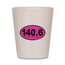 140.6 Ironman Triathlon Shot Glass