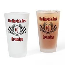 Racing Grandpa Pint Glass