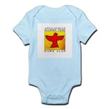 Hawk Clan Yellow Infant Bodysuit
