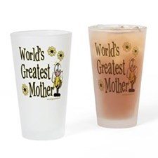 Mother Bumble Bee Pint Glass