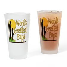 World's Greatest Papa Pint Glass