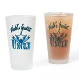 #1 uncle Pint Glasses