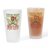 Triston Pirate Pint Glass