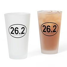 26.2 Marathon Pint Glass