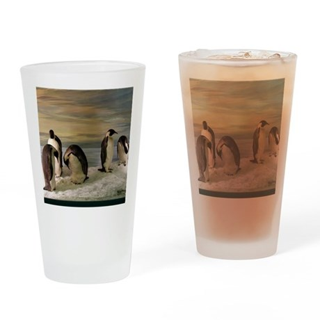 Penguins Pint Glass