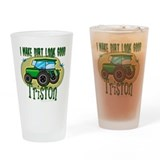 Triston Tractor Pint Glass