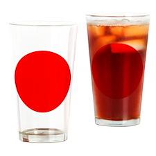 Red Circle Pint Glass