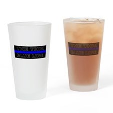 Police Pint Glass