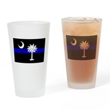 South Carolina Police Pint Glass