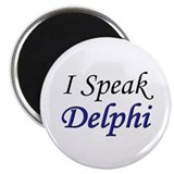 """I Speak Delphi"" Magnet"