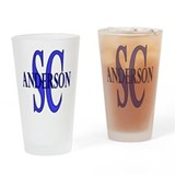 Anderson South Carolina Pint Glass