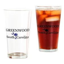 Greenwood South Carolina Pint Glass