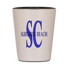 Surfside Beach SC Shot Glass