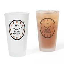 Its Beer O'Clock Pint Glass