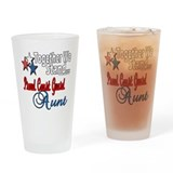 Coast Guard Aunt Pint Glass