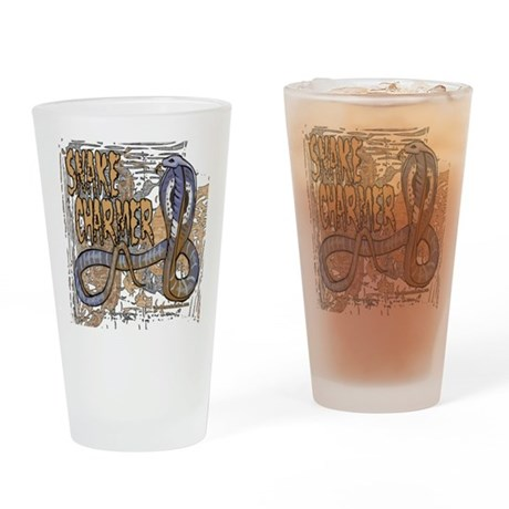 Snake Charmer Pint Glass
