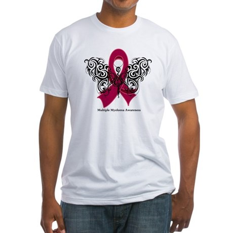 Multiple Myeloma Tribal Fitted T-Shirt