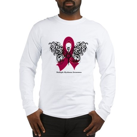 Multiple Myeloma Tribal Long Sleeve T-Shirt