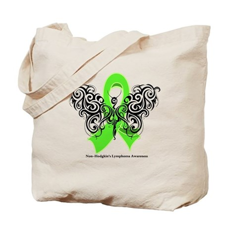 Non-Hodgkin's Lymphoma Tribal Tote Bag