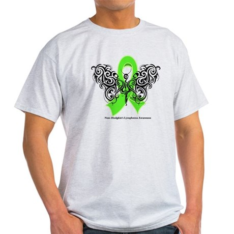 Non-Hodgkin's Lymphoma Tribal Light T-Shirt