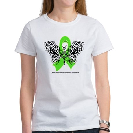 Non-Hodgkin's Lymphoma Tribal Women's T-Shirt